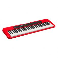 Teclado CT-S200RDC2 Casiotone, 61 teclas, color rojo