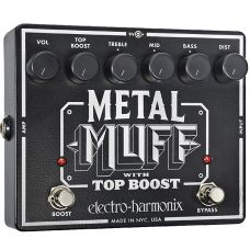 Pedal para guitarra METAL MUFF, distorsion c/ top boost